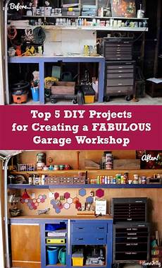 top 5 garage top 5 diy projects for a fabulous garage workshop