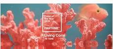 Pantone Farbe Des Jahres 2019 Korallenrot