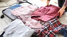 6 Tipps Koffer Richtig Packen Platzsparend