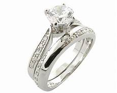 platinum 925 sterling silver simulated diamond