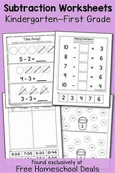 subtraction worksheets class 1 10021 free k 1 subtraction worksheets instant free homeschool deals