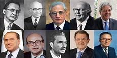 presidenti consiglio dei ministri da de gasperi a gentiloni il cursus honorum dei primi