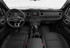 2020 jeep gladiator interior 2020 jeep gladiator black leather trimmed interior seating