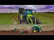 Miststreuen I Claas Traktoren Im Einsatz I Bergmann Tsw