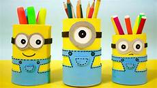 How To Make Minion Pencil Holders Diy School Supplies