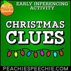 ela worksheets 15480 clues early inferencing activity by peachie speechie