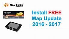 navigon install free map update 2016 on gps device