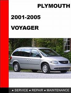 car maintenance manuals 2003 chrysler voyager head up display plymouth voyager 2001 2005 service repair manual tradebit