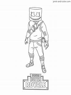 fortnite coloring pages free coloring pages