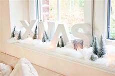 Weihnachts Deko F 252 R Die Fensterbank Zu Hause Im Wohnzimmer