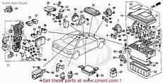Honda Accord 1992 N 2dr Ex Ka Kl Fuse Box Relay Buy