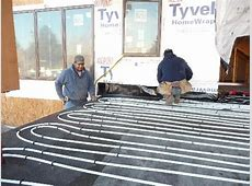 Platinum LEED Home Colorado: Hydronic Radiant Heating and