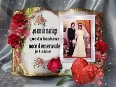 Demain Nous Fetons Nos 40 Ans De Mariage Noce D Emeraude