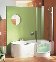 wanne dusche kombiniert line walk in bathtub and shower combo