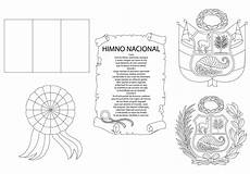 dibujo de los simbolos naturales para colorear s 237 mbolos patrios per 250 para colorear material de aprendizaje