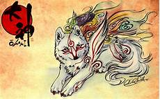 Japanese Wolf Wallpaper