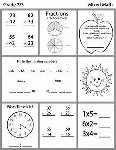 math worksheet time grade 2 3505 grade 2 3 mixed math worksheets bundle by tbu inspired digitals tpt