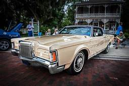1971 Lincoln Continental Mark IIi Painted Photograph By