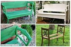 fabriquer un banc de jardin banc 224 partir de chaises bois palette