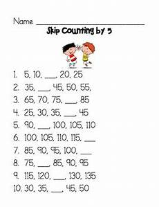 skip counting by 5 worksheets for kindergarten 12018 skip counting by 5 worksheet by wysiwyg teachers pay teachers