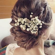 Blumen Im Haar Hochzeit - braut braut2016 brautfrisur instabride