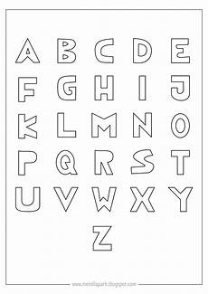 free printable coloring alphabet letters ausdruckbares