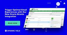oracle trigger send email exle trigger optimal email experiences with our oracle bronto integration