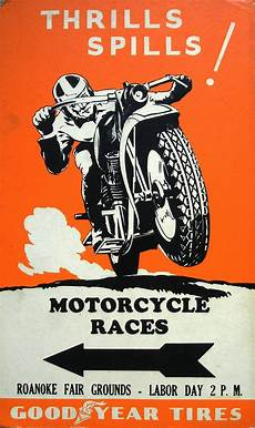 motoblogn vintage motorcycle race posters 2