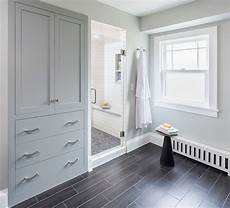 bathroom linen cabinet plans built in linen cabinet transitional bathroom