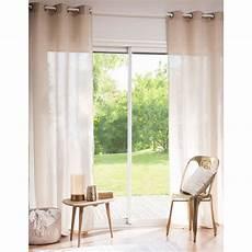 1000 images about rideau on rideau 224 œillets en coton et beige paillett 233 140x250