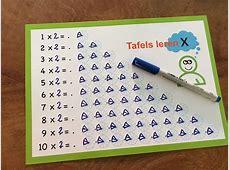 Visueel tafels leren (1 stuk)