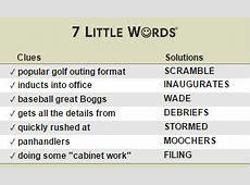 seven little words official site