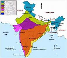 physiographic regions of india physiographic division of india