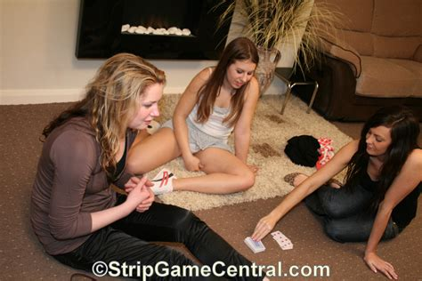 Girls Playing Strip Games