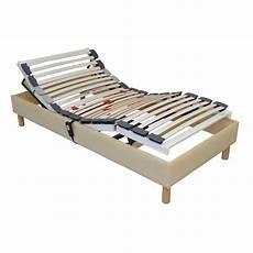 Sommier Lit Electrique 90x190 De Relaxation