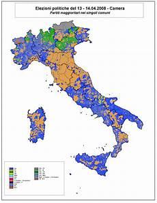 Italy Legislative Election 2008 Electoral Geography 2 0
