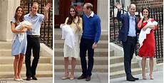 kate middleton and prince william present royal baby to