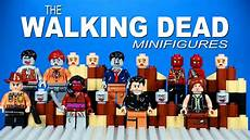 lego the walking dead lego the walking dead knockoff minifigures set 1 with