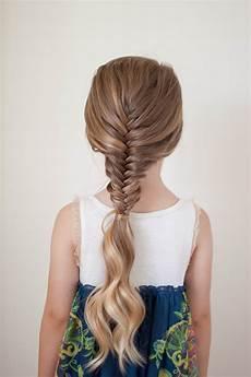ways to wear a fishtail braid cute girls hairstyles