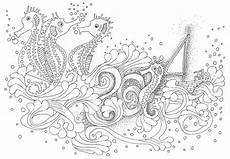 Ausmalbilder Erwachsene Unterwasserwelt Ausmalbilder Erwachsene Unterwasserwelt Kostenlose