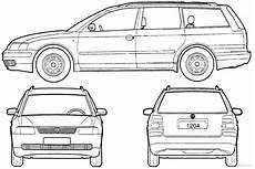 Malvorlagen Autos Vw Passat Coloring Pages