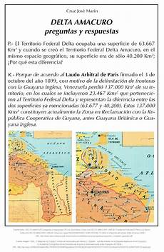 simbolos naturales del estado delta amacuro aportes para el esequibo la capital de la guayana esequiba