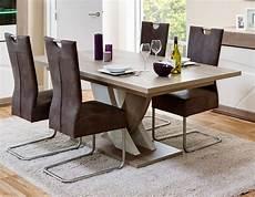 table de salle a manger extensible table de salle 224 manger contemporaine extensible ch 234 ne