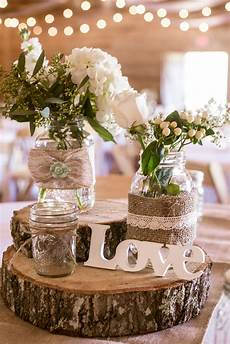 rustic wooden chargers with simple centerpieces fun