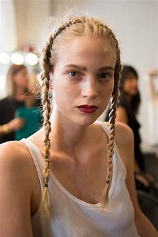 most beautiful haircuts for hair the boldest and most beautiful hair at nyfw 2017