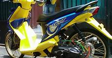 Modif Motor Beat Sederhana by Gambar Modifikasi Aneka Modifikasi Motor Beat Sederhana