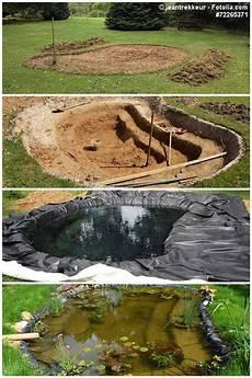 Gartenteich Anlegen Teich Garten Hinterhof Teich Und