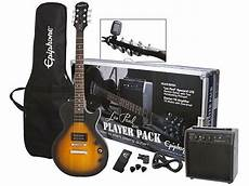 epiphone les paul pack epiphone les paul special ii player pack electric guitar package vintage sunburst newegg