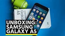 Samsung Galaxy A5 2017 Unboxing D 233 Ballage Et Premier