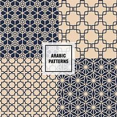 Arabische Muster Malvorlagen Bilder Chic Arabische Muster Der Kostenlosen Vektor